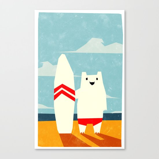 Surf! Canvas Print
