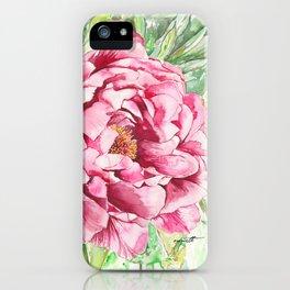 Peonie iPhone Case