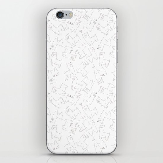 Alpacas iPhone & iPod Skin