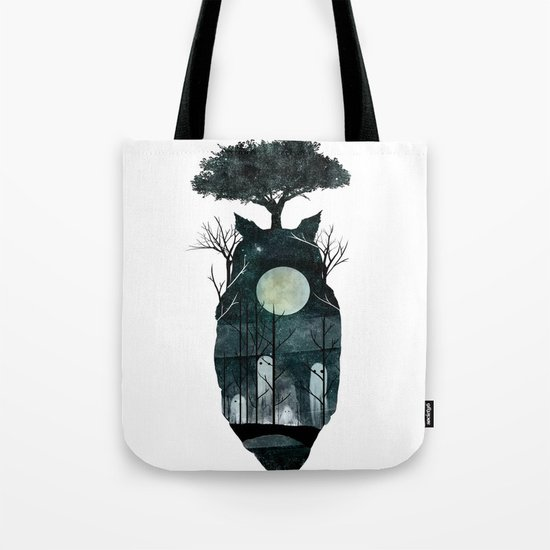 March of the Forest Spirits Tote Bag