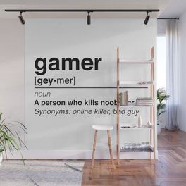 Gamer Wall Mural
