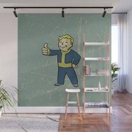 Vault Boy - fallout 4 Wall Mural