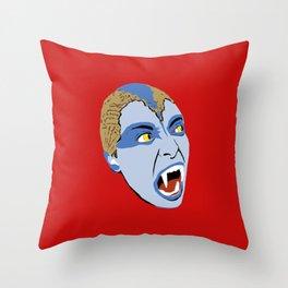 The Lair of the White Worm - Sylvia Marsh Throw Pillow