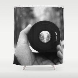 Through a Lens Shower Curtain