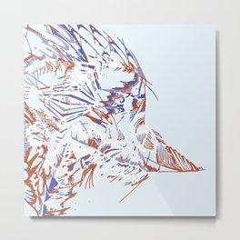 Birdie-Bird Metal Print