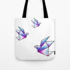 Origami Pastels Tote Bag