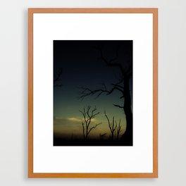 New day dawning Framed Art Print