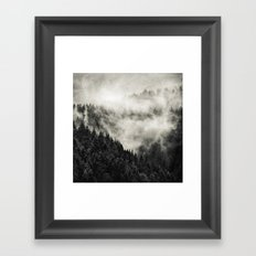 In My Other World // Old School Retro Edit Framed Art Print