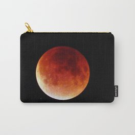 Super Moon Eclipse 2015 (Blood Moon) Carry-All Pouch