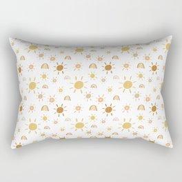 Mr. Golden Sun Rectangular Pillow