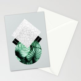 Geometric Composition 4 Stationery Cards
