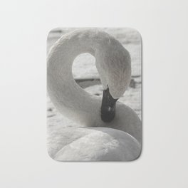 S is for Swan by Teresa Thompson Bath Mat
