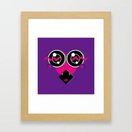 SHY (Original Characters Art by AKIRA) Framed Art Print