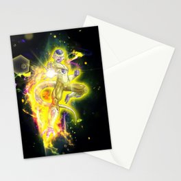 Golden Frieza Stationery Cards