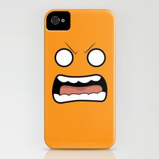 Scary Face Slim Case iPhone (4, 4s)