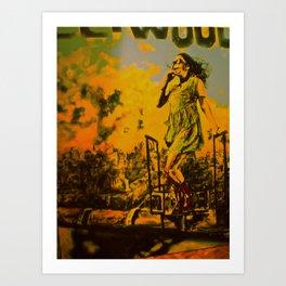 Park ave and Penniless Art Print