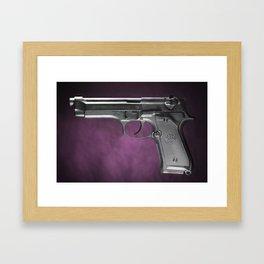 Beretta 92 Framed Art Print