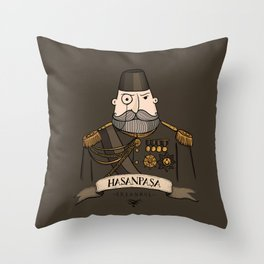Hasanpasa, Istanbul Throw Pillow
