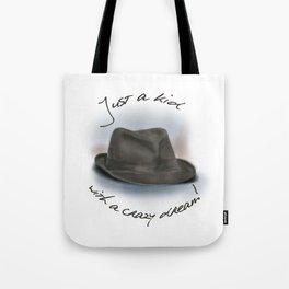 Hat For Leonard Cohen, Crazy Dream Kid Tote Bag