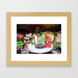 Witch Green Room Framed Art Print