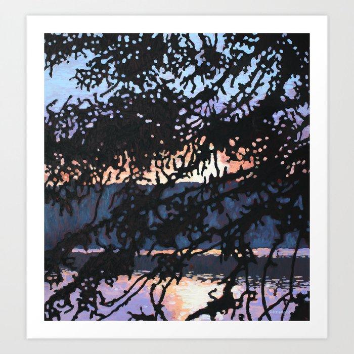 Rosebary Lake, Algonquin Park Art Print