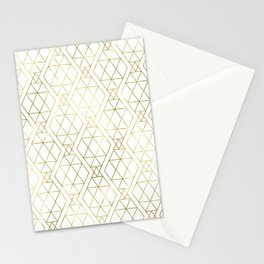 Modern Art Deco Geometric 1 Stationery Cards