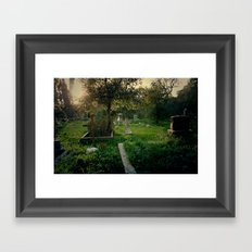 Nordhoff Cemetery Framed Art Print