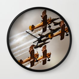 Wingwalkers Wall Clock