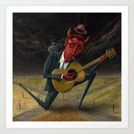 The Devils Muse Art Print