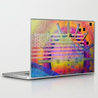 submarine Laptop & iPad Skins featuring submarine by Kay Weber
