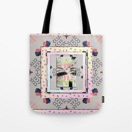 Eye Lashes Tote Bag