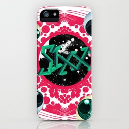 SIXX in Supersonic Pink iPhone Case