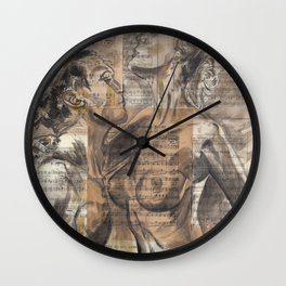 Here In My Arms Wall Clock