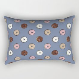 Polka Donut Rectangular Pillow