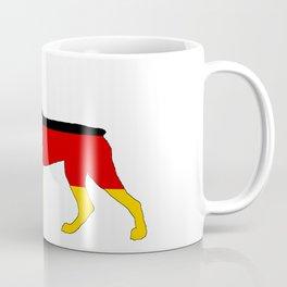 German Flag - Dobermann Pinscher Coffee Mug