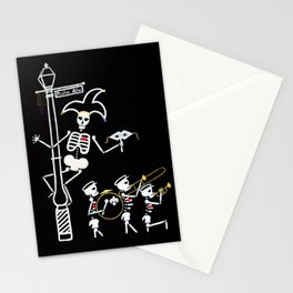 Pirate's Alley Jester and Marching Band Stationery Cards