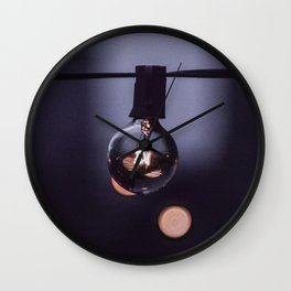 Lit on Kenmore Wall Clock