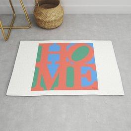"""""""HOME"""" LOVE Parody Rug"""
