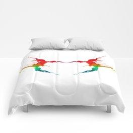 Hornet Romance Comforters