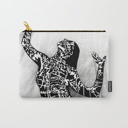 Girl In Shadow Carry-All Pouch