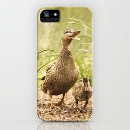 mama mallard iPhone Case