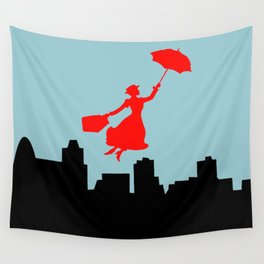 Mary Poppins  Wall Tapestry