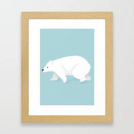 Polar bear Framed Art Print