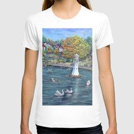 Roath Park Lake, Cardiff T-shirt