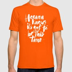 Ceremony Orange 2X-LARGE Mens Fitted Tee