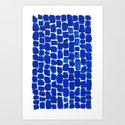 Brick Stroke Blue by ambroziak