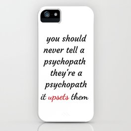 killing Eve - Sorry Baby -quote-Villanelle -Eve Polastri iPhone Case