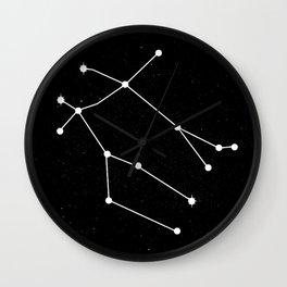 GEMINI (BLACK & WHITE) Wall Clock