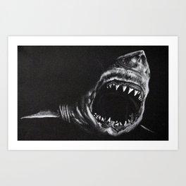 Man-Eater Art Print
