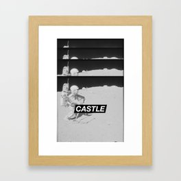 SURFACE // CASTLE Framed Art Print